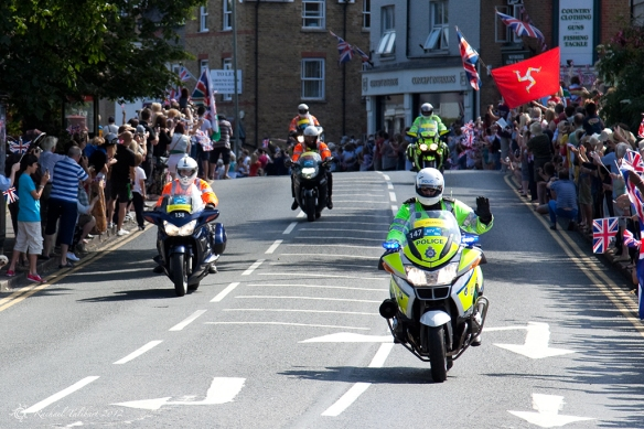 Motorcycle riders for Olympic road race 2012