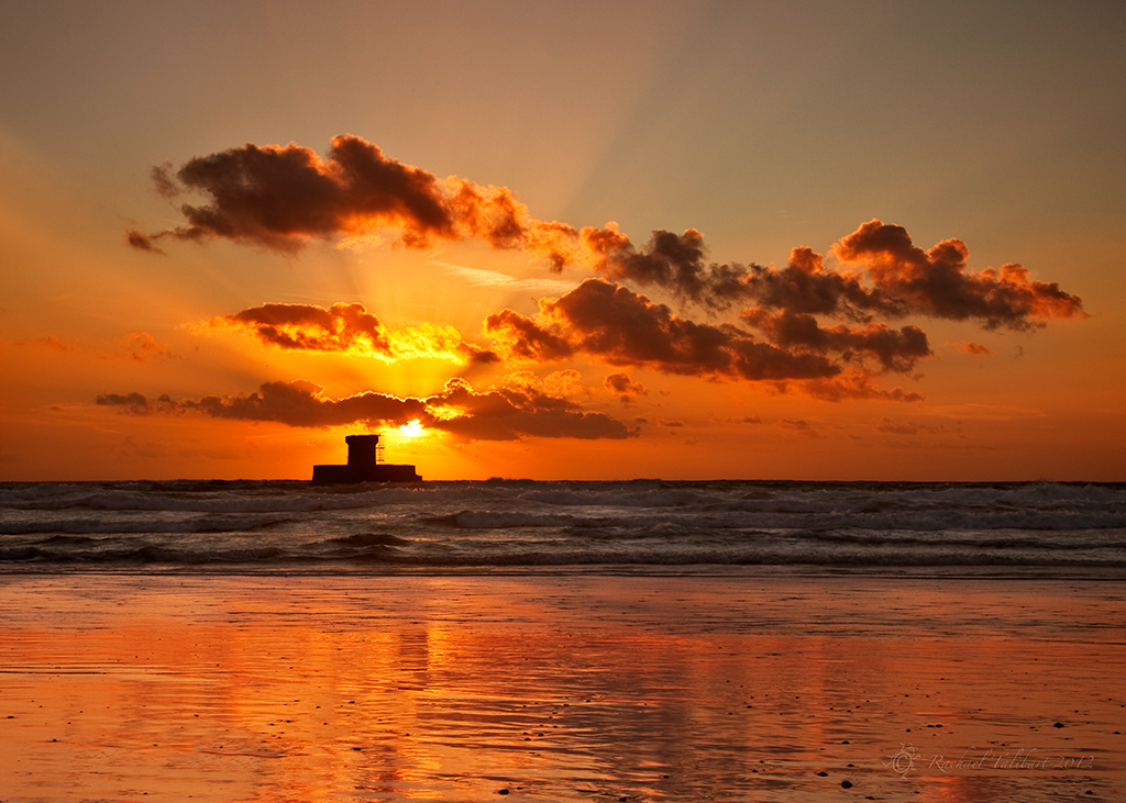 Sunset st ouen s beach focused moments for Garden design jersey channel islands