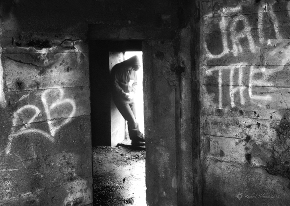 Teenager in derelict war tunnel
