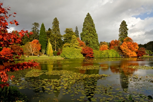 Sheffield Park landscape garden