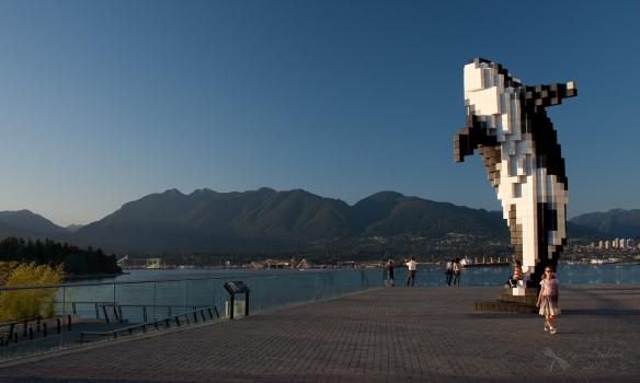 killer whale sculpture
