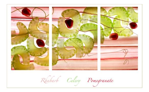 fruity triptych