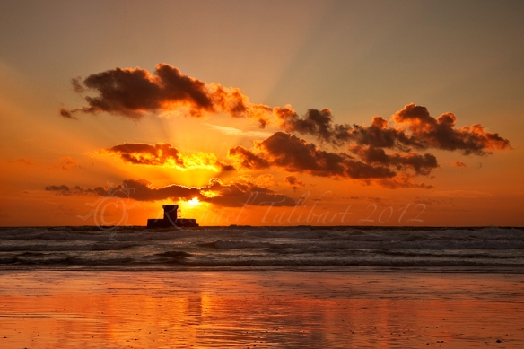 Sunset, St. Ouen's Beach