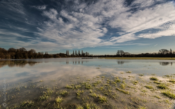 Desborough Island flooded 2