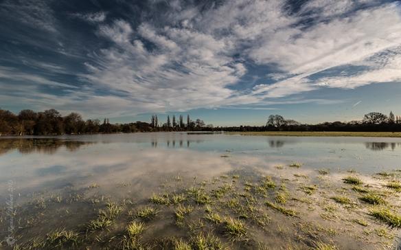 Desborough Island flooded 2