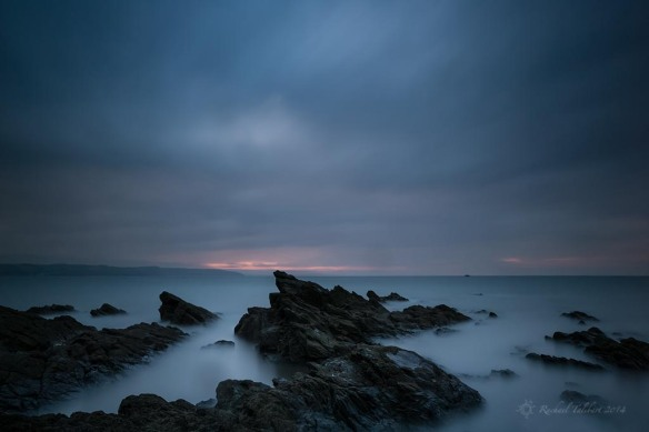 First light, Saundersfoot Bay