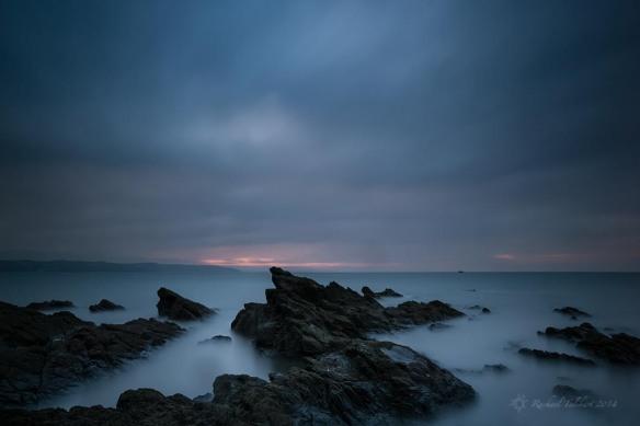 First light, Saundersfoot Bay