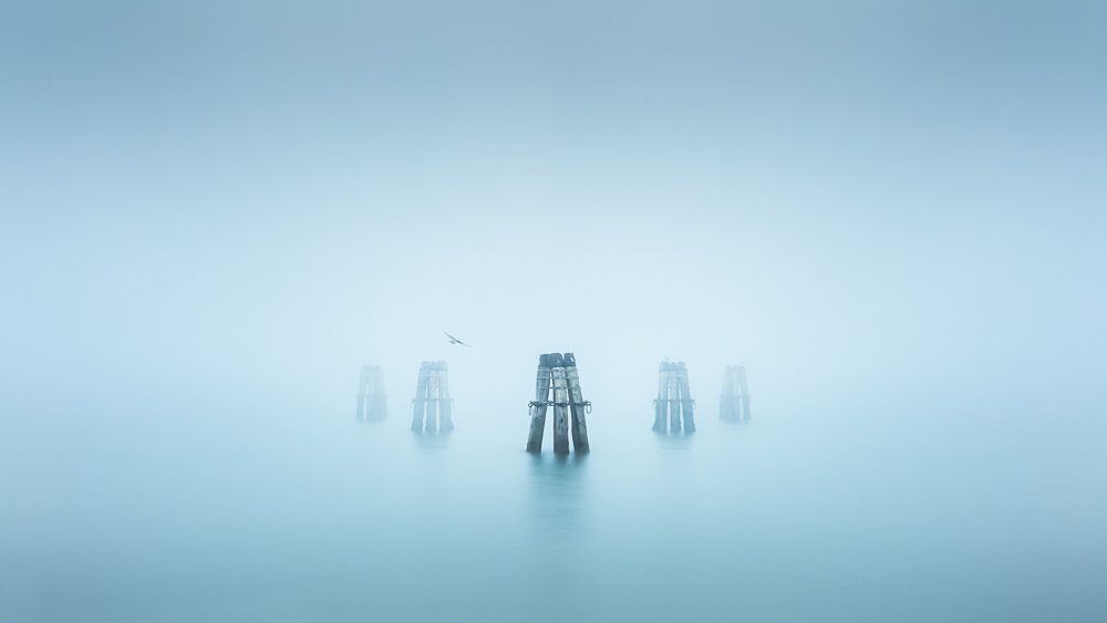 misty minimal picture from Venice